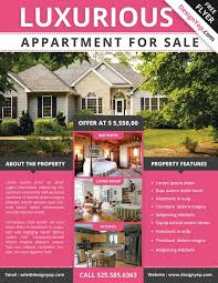 home for sale template download the best free real estate flyer templates for photoshop