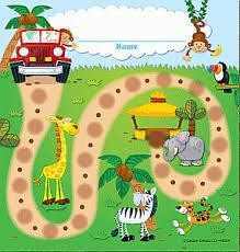 Chart Jungle Jungle Safari Mini Chart