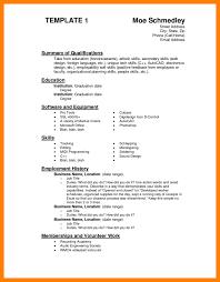6 Skills Section Resume Adgenda Template