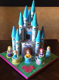 Make A Wish Disney Princess Castle Cake Byrdie Girl Custom Cakes