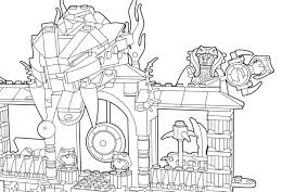 19 Free Ninjago Coloring Pages For