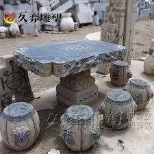 get ations long yi sculpture danzhuoshideng bluestone granite stone table stone table and chairs patio antique