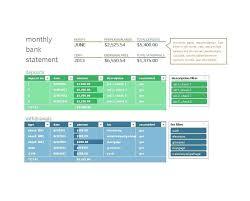 Check Reconciliation Template Bank Reconciliation Spreadsheet Template Recon Sample Reconcile