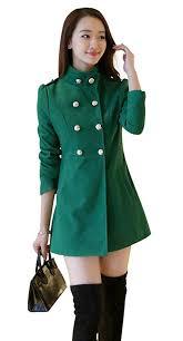 aisuper women s winter wool double ted long sleeve trench coat peacoat b01mxq9kvs
