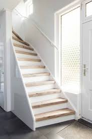 Decor: Mississippi Pine Stootbord: wit Stairs renovation