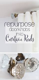 Door Knob & Industrial Pipe Curtain Rods | In My Own Style