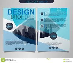 Pamphlet And Brochure Poster Flyer Pamphlet Stock Vector Illustration Of Leaflets