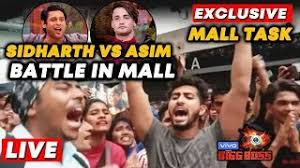 Bigg Boss 13 MALL TASK LIVE | Sidharth Vs Asim FANS BATTLE | Bollywood Spy  At Oberoi Mall - YouTube