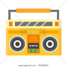 sound system clipart. home sound system. stereo flat vector music systems for lovers. loudspeakers player system clipart