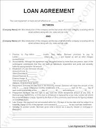 Business Loan Agreement Magnificent Business Loan Document Template Personal Loan Agreement Template