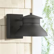 john timberland black 5 inch h led outdoor wall light wall porch lights com