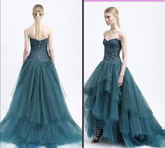 ball dresses online. monique lhuillier 2015 evening dresses ball gown sweetheart lace tiers cheap sweep train tulle celebrity gowns high low party dress online with