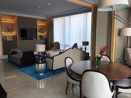 Small Picture Garden View Suite salon Picture of Raffles Jakarta Jakarta