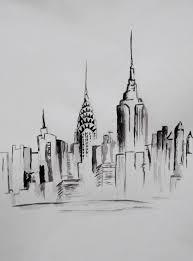 saatchi art artist sonya reynolds painting new york skyline art