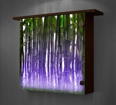 smartness inspiration lighted wall art decor shelves inside diy regarding your house panels with timer