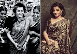 vidya balan to star in indira gandhi s biopic lehren english  bollywood actress vidya balan is all set to essay the role of indira gandhi the former n prime minister in her upcoming movie