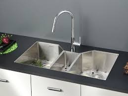 ruvati rvh8500 gravena undermount 16 gauge 35 inch stainless steel kitchen sink triple bowl