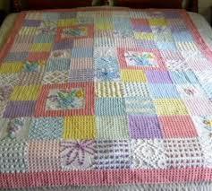 Best 25+ Chenille quilt ideas on Pinterest   Chenille blanket, Rag ... & pastel colored chenille quilt Adamdwight.com