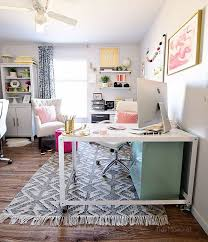 At home office Interior Decorating Shared Home Office Tidymom Decorating Shared Home Office Tidymom