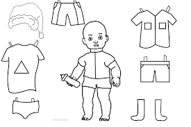 Small Picture Free Printable Paper Doll Templates Cool2bKids