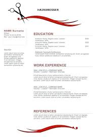 Cosmetology Resumes Template Magnificent Resume For A Cosmetologist Cosmetology Resume Templates Cosmetology