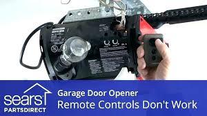 garage door opener won t close garage door opener wont close genie garage door won t