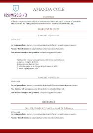 Most Accepted Resume Format Sarahepps Com
