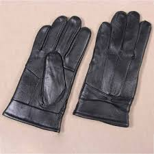 details about warm fleece lined black winter warm soft touch screen leather gloves women am5