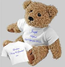 image is loading personalised bear christening baptism naming day ceremony gift