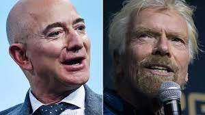 Richard Branson wint 'Space Race' van ...