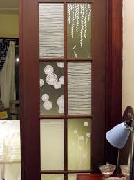 View in gallery french doors film paint