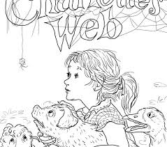 Small Picture awesome Marvellous Charlotte Web Coloring Pages New Picture For