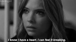 Gif Love Pretty Little Liars Couple Gifs Black And White Depressed Cool Giv Cry Sad Love