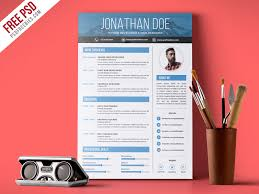 graphics design resumes free psd creative graphic designer resume psd template by