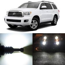 2008 Toyota Sequoia Fog Lights Amazon Com Alla Lighting 2pcs Super Bright 6000k Xenon