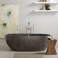 Bathtubs Idea, Free Standing Soaker Tubs Kohler Freestanding Tub Avalon 72  Freestanding Concrete Bathtub In