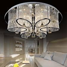dubai designs lighting lamps luxury. LEDVAS Modern Luxury Living Room Ceiling Lamp Fixture Crystal Chandelier Lighting (68CM(26.7IN)) - Buy Online In UAE.   Products The UAE See Prices, Dubai Designs Lamps