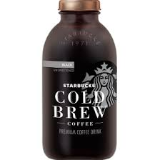 black iced coffee starbucks. Delighful Black Starbucks Bottled Cold Brew Black Unsweetened To Black Iced Coffee Starbucks C