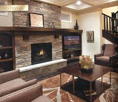 cultured stone fireplace mantel shelves stacked