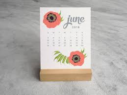 desk calendar stand fl with wood 2018 favorite story 3