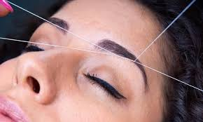 while many hair and nail salons are known for providing these services there are wax kits and ways to thread your eyebrows at home too