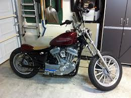rear fender chop holy sh t it s too high the sportster and