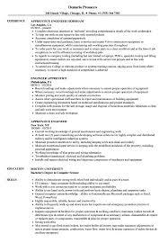 Stationary Engineer Resume Apprentice Engineer Resume Samples Velvet Jobs 5