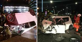 21-Year-Old Malaysian Student Dies In Horrific Car Crash With BMW ...