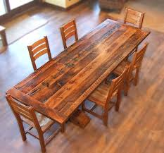 dining room tables reclaimed wood. Reclaimed Wood Timber Barron Dining Set By MistyMtnFurn On Etsy. Table Room Tables