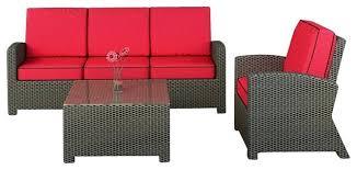 wicker patio furniture cushions. Modren Patio Outdoor Wicker Furniture Cushions Enchanting Patio  3 Piece Modern Sofa Set   Throughout Wicker Patio Furniture Cushions