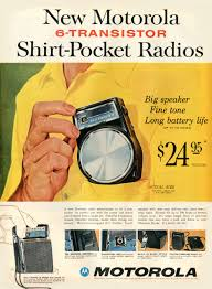 Image result for FIRST TRANSISTOR RADIOS OF 1960'S