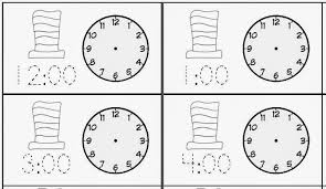 Classroom Freebies: Seuss-Themed Telling Time to the Hour & Half ...