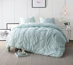Hint of Mint Bedding Comforter Sets in Twin XL & Hint of Mint Pin Tuck Twin Comforter - Oversized Twin XL Bedding Adamdwight.com