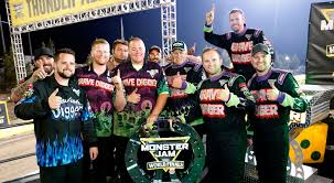 Congratulations Team Grave Digger Monster Jam